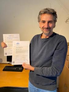 Marcel Swelsen (VerzuimApplicatie) NEN en ISO certificering